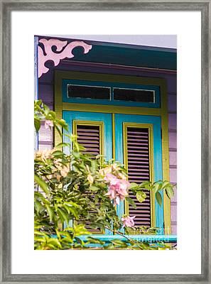 Caribbean Blue Framed Print by Rene Triay Photography