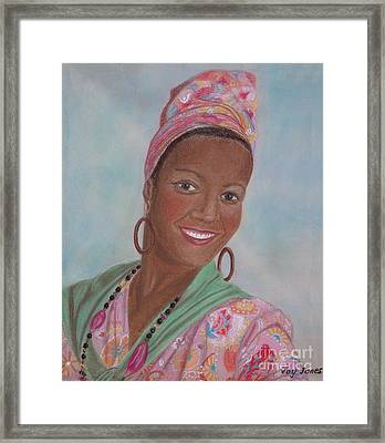 Caribbean Pride Framed Print