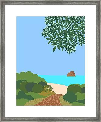 Caribe 1 Framed Print