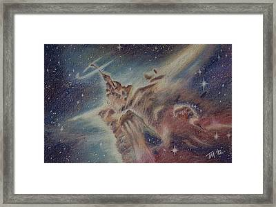 Carina Nebula Framed Print by Thomas Maynard