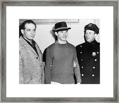 Carl Cintron, Mau Maus Gang Member Framed Print by Everett