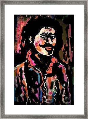 Carlos Framed Print by Natalie Holland