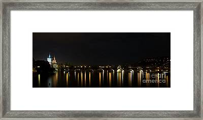 Carls Bridge Framed Print