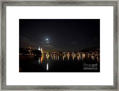 Carls Bridge Prague Framed Print