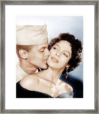 Carmen Jones, From Left Harry Framed Print by Everett