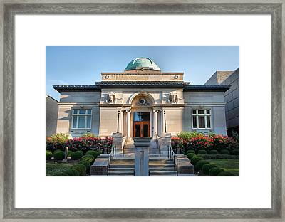 Carnegie Library Framed Print by Steven Ainsworth