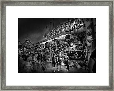 Carnival - Game-a-rama Framed Print by Mike Savad