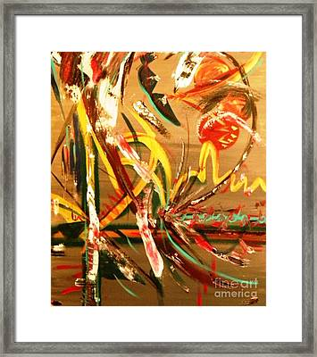 Carnival Collision Framed Print