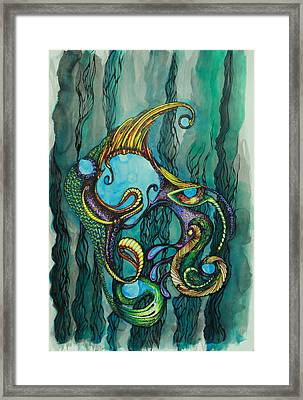 Carnival Fish 2 Framed Print