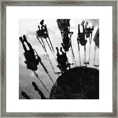 Carnival Swing Framed Print
