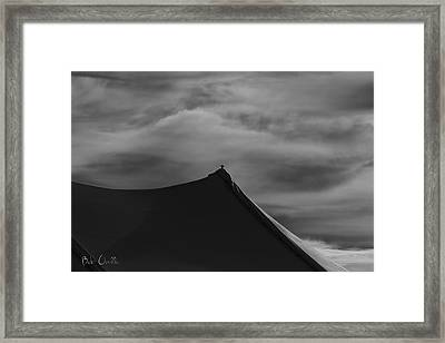 Carnival Tent Framed Print by Bob Orsillo
