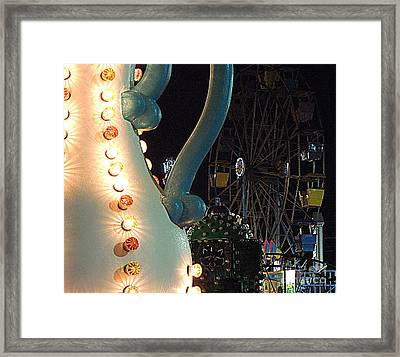 Framed Print featuring the photograph Carnivale by Renee Trenholm