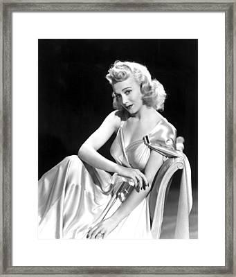 Carole Landis, Paramount Pictures, Ca Framed Print