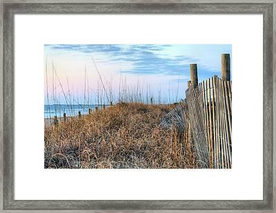 Carolina Pastels Framed Print by JC Findley