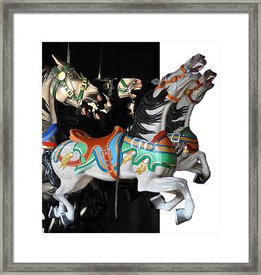Carosel 1 Framed Print by Sarah McKoy
