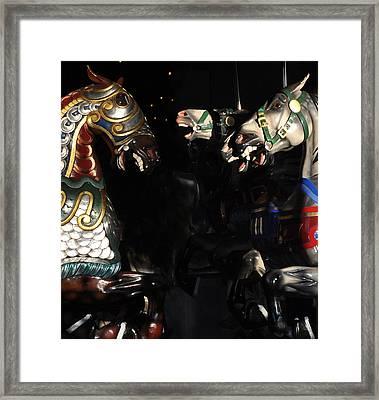 Carosel 3 Framed Print by Sarah McKoy