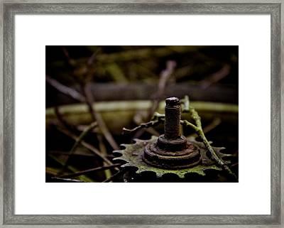 Carousel Framed Print by Odd Jeppesen