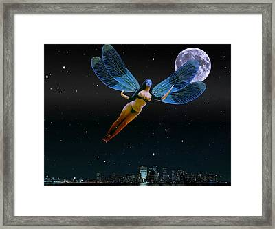 Carpenoctemny Framed Print by Helmut Rottler