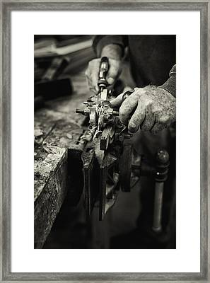 Carpenter L Framed Print