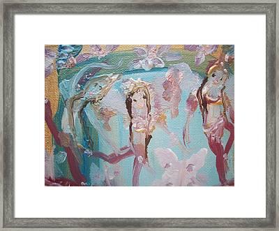 Carpet Fairies Framed Print by Judith Desrosiers
