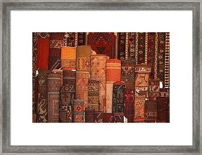 Carpet For Sale Framed Print by Carson Ganci