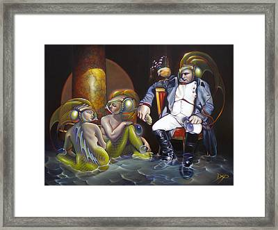Carpoleon Bonafish Framed Print by Patrick Anthony Pierson