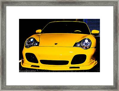 Carrera 4s Framed Print