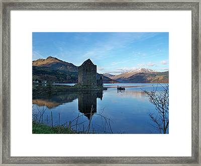 Framed Print featuring the photograph Carrick Castle by Lynn Bolt
