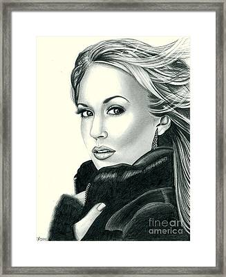 Carrie Underwood Framed Print