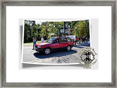 Cars Crossing 278 Framed Print