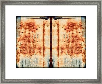 Carschach007 Framed Print