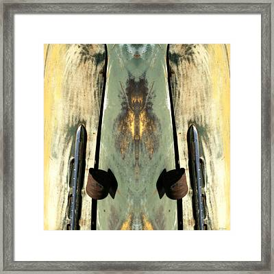 Carschach010 Framed Print by Tony Grider