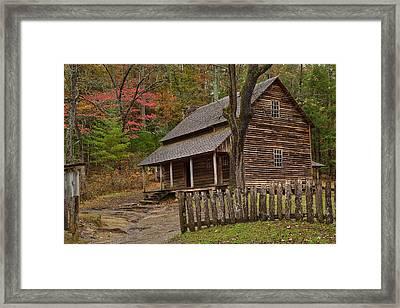 Carter House Framed Print by Charles Warren