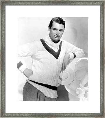 Cary Grant, 1934 Framed Print by Everett