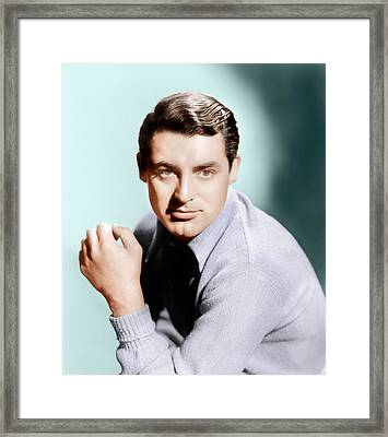 Cary Grant, Ca. 1936 Framed Print by Everett