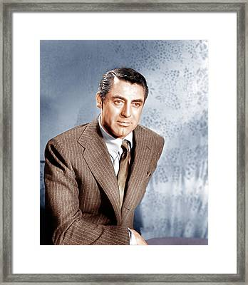 Cary Grant, Ca. 1949 Framed Print by Everett