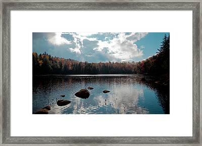 Cary Lake Framed Print by David Patterson