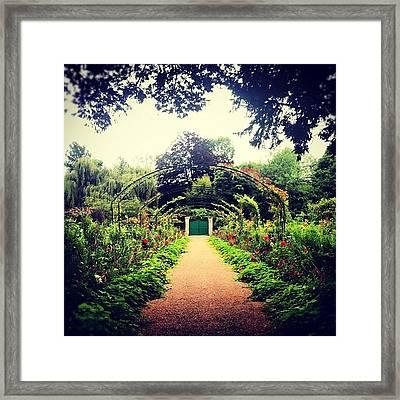 Casa Monet Framed Print