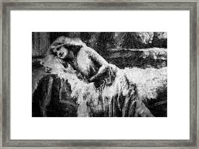 Casablanca - Expressionism Framed Print