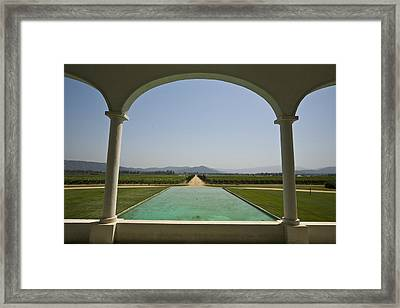 Casablanca Valley, A Wine Growing Framed Print by Richard Nowitz