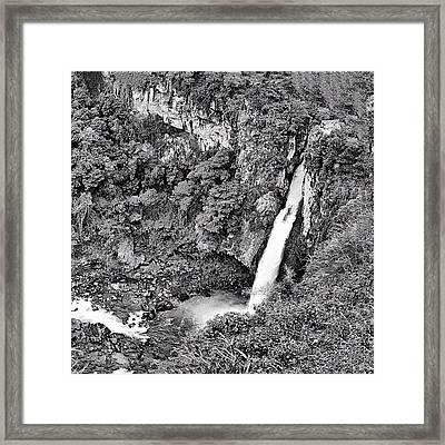 Cascada De Texolo, Xico, Veracruz Framed Print