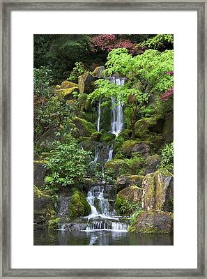 Cascading Waters Framed Print