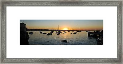 Cascais At Dawn Framed Print