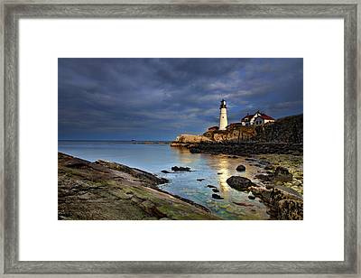 Casco Reflections Framed Print by Rick Berk