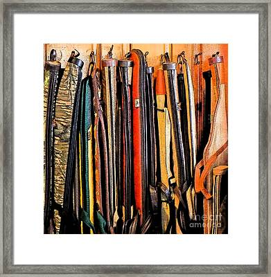 Cases Framed Print by Gary Everson