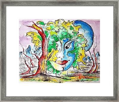 Casiopea Framed Print by Natasa Dobrosavljev