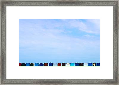 Casitas Framed Print by Guillermo Luengas