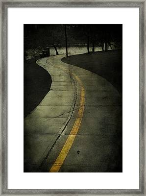 Casledowns Road  Framed Print by Jerry Cordeiro