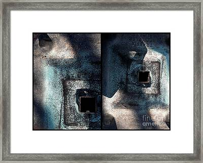 Cast Irony Framed Print by Marlene Burns
