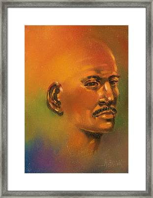 Framed Print featuring the painting Cast Reflctions Ll by Al Brown